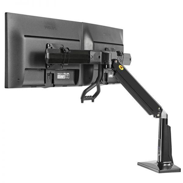 F27B- Supporto da scrivania dual screen
