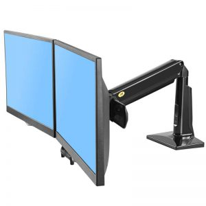 F27B- Supporto da scrivania dual screen