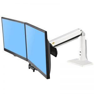 F27W- Supporto da scrivania dual screen